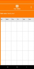 NewTimetableNotes - Simple Timetable, Weekly plan / Weekly planner, Notes in tables. App-Screenshot-10