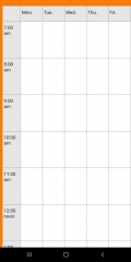 NewTimetableNotes - Simple Timetable, Weekly plan / Weekly planner, Notes in tables. App-Screenshot-11